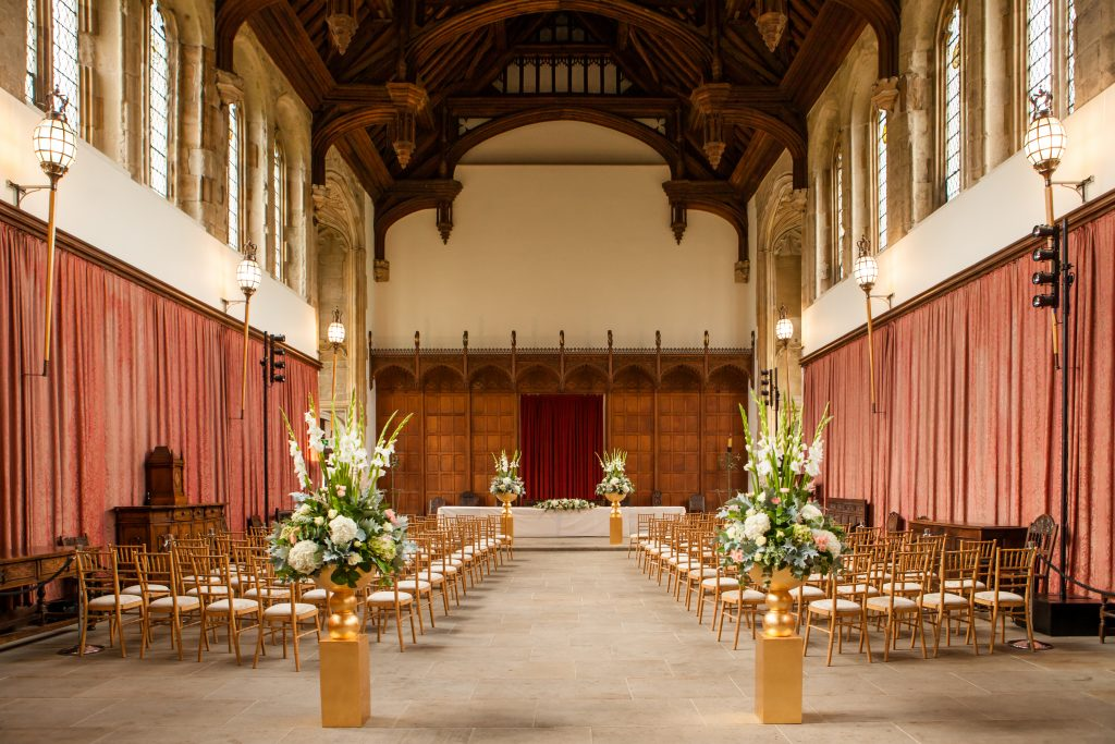 Eltham Palace Wedding Florists